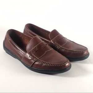f3c60677e8  Cole Haan  Douglas Penny Loafer Leather Shoes